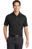 Nike Golf Dri-FIT Solid Icon Pique Modern Fit Polo Black Thumbnail