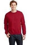 Heavy Blend Crewneck Sweatshirt Cherry Red Thumbnail