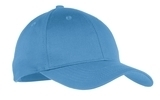Youth 6-panel Twill Cap Carolina Blue Thumbnail