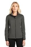 Women's Active Soft Shell Jacket Grey Steel Thumbnail