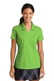 Women's Nike Golf Shirt Dri-FIT Micro Pique Polo Shirt Action Green Thumbnail