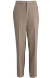 Edwards Men's Washable Wool Flat-front Dress Pant Desert Tan Thumbnail