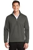 Active 1/2-Zip Soft Shell Jacket Grey Steel Thumbnail