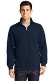 1/4-zip Sweatshirt True Navy Thumbnail