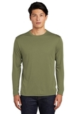 Competitor Long Sleeve Tee Olive Drab Green Thumbnail