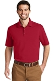 SuperPro Knit Polo Rich Red Thumbnail