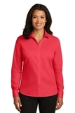 Women's Red House NonIron Twill Shirt Dragonfruit Pink Thumbnail
