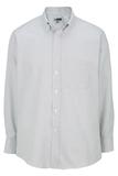 Men's Dress Button Down Oxford LS Light Grey Thumbnail