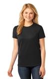 Women's 5.4-oz 100 Cotton T-shirt Jet Black Thumbnail