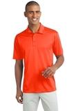 Legendary Sateen Moisture Wicking Polo Neon Orange Thumbnail