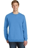 Essential Pigment-Dyed Crew-Neck Sweatshirt Blue Moon Thumbnail