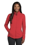 Women's Collective Smooth Fleece Jacket Red Pepper Thumbnail