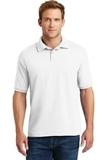 Economy Uniform Polo 5.2 Oz Jersey Knit White Thumbnail