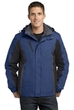 Colorblock 3-in-1 Jacket Admiral Blue with Black and Magnet Thumbnail