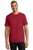 Tagless 100 Comfortsoft Cotton T-shirt Deep Red Thumbnail