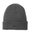 New Era Speckled Beanie Graphite with Black Thumbnail