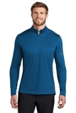 Nike Golf Dry 1/2-Zip Cover-Up Gym Blue Thumbnail