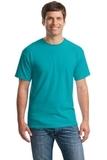Heavy Cotton 100 Cotton T-shirt Tropical Blue Thumbnail
