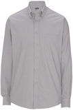 Men's Pinpoint Oxford Shirt LS Dark Grey Thumbnail