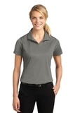 Women's Micropique Moisture Wicking Polo Shirt Grey Concrete Thumbnail
