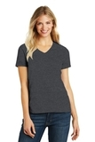 Women's Made Perfect Blend V-Neck Tee Heathered Charcoal Thumbnail