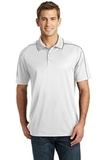Micropique Sport-wick Piped Polo White with Iron Grey Thumbnail