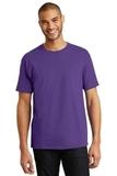 Tagless 100 Comfortsoft Cotton T-shirt Purple Thumbnail