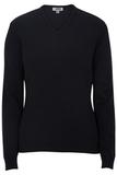 Women's Edwards V-neck Sweater-tuff-pil Plus Navy Thumbnail