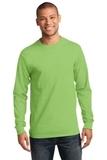 Essential Long Sleeve T-shirt Lime Thumbnail