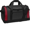 Voyager Sports Duffel Dark Grey with Red Thumbnail
