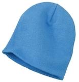 Knit Skull Cap Columbia Blue Thumbnail