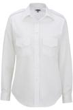 Women's Long-sleeve Navigator Shirt White Thumbnail