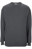 Edwards Crew Neck Cotton Blend Sweater Steel Grey Thumbnail