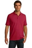 Port Company Tall 5.5-ounce Jersey Knit Polo Red Thumbnail