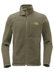 The North Face Sweater Fleece Jacket New Taupe Green Heather Thumbnail