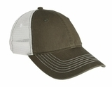 Mesh Back Cap Army with White Thumbnail