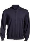 Full-Zip Sweater Navy Heather Thumbnail