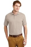 Ultra Blend 5.6-ounce Jersey Knit Sport Shirt Sand Thumbnail