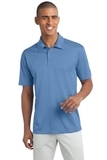 Legendary Sateen Moisture Wicking Polo Carolina Blue Thumbnail