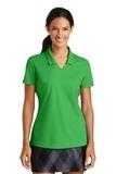 Women's Nike Golf Shirt Dri-FIT Micro Pique Polo Shirt Lucky Green Thumbnail