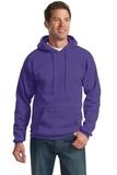 Pullover Hooded Sweatshirt Purple Thumbnail