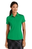 Women's Nike Golf Dri-FIT Smooth Performance Modern Fit Polo Pine Green Thumbnail