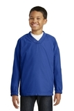 Youth V-neck Raglan Wind Shirt True Royal Thumbnail