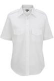 Women's Short-sleeve Navigator Shirt White Thumbnail