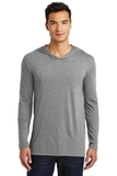 Men's Perfect Tri-Long Sleeve Hoodie Grey Frost Thumbnail