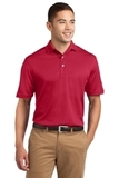 Tall Dri-mesh Polo Red Thumbnail