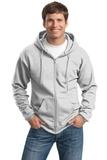 Tall Ultimate Full-zip Hooded Sweatshirt Ash Thumbnail