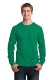 Long Sleeve 5.4-oz. 100 Cotton T-shirt Kelly Thumbnail