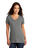 Women's Perfect Weight V-neck Tee Heathered Nickel Thumbnail