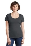 Women's Made Perfect Weight Scoop Tee Charcoal Thumbnail